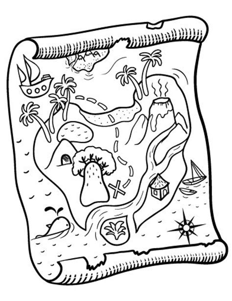 coloring page treasure map 190 best images about coloring on pinterest dovers