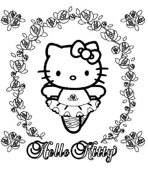 hello kitty coloring pages with numbers hello kitty color by number az coloring pages
