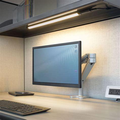 under desk hutch lighting under cabinet desk lighting bar cabinet