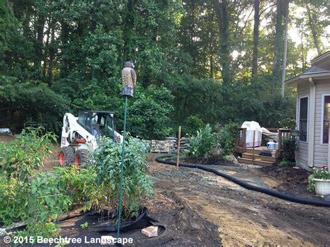 by design forest hill md flagstone patio paver patio and plantings in forest hill md