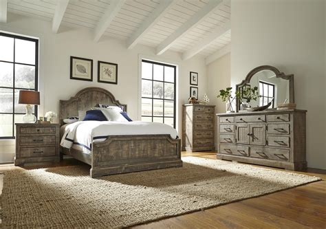 progressive bedroom furniture progressive furniture meadow king bedroom group wayside