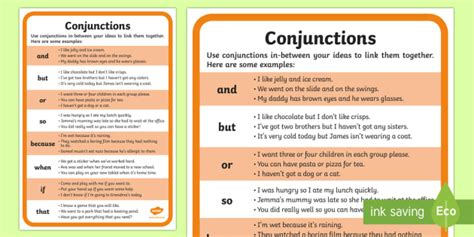 exle of conjunction conjunctions exles word mat ks1 conjunctions word mat