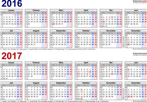 Word Vorlage Winter zweijahreskalender 2016 2017 als word vorlagen zum