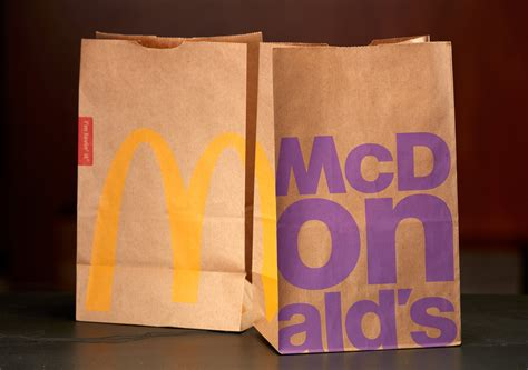 Mcdonalds Puts What Image On Bags mcdonald s bags through history business insider