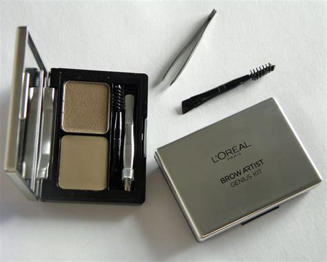 Eyebrow Powder Eyeliner Compact 2in1 l oreal brow artist genius kit review it s only makeup