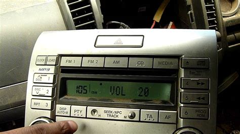 ford ranger cdmp player panasonic   dsxacq