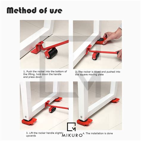 furniture lifting easy moving sliders  packs mover tool
