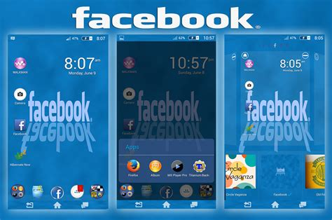 xperia themes facebook install custom xperia facebook theme and ios7 theme