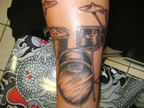 tattoo drum kit drumset side 3 tattoo picture at checkoutmyink com