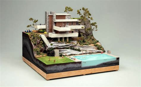 house diorama chillout sessions miniature architectural dioramas 3d