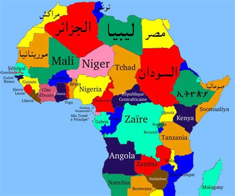 map of speaking countries in africa cosweafricanwomenaredoin doinitwell fima 2007 the