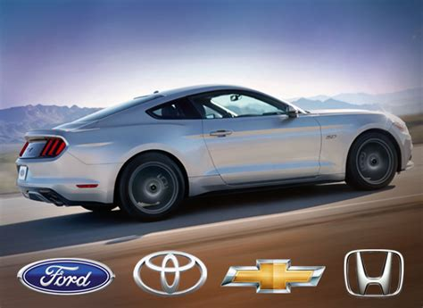 toyota brand cars ford toyota and chevrolet lead in car brand loyalty