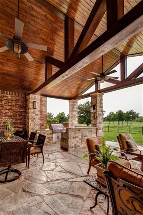 heavy timber beams and tongue and groove pine ceiling