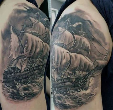 storm 3d tattoo designs ship in the http tattootodesign ship
