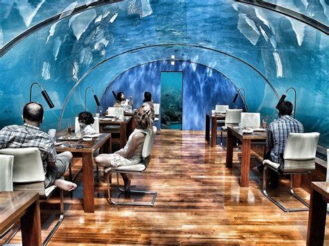 maldives ringali island conrad underwater restaurant part photo of conrad maldives rangali island south ari atoll