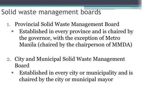 organization pattern of solid waste management solid waste management ppt driverlayer search engine