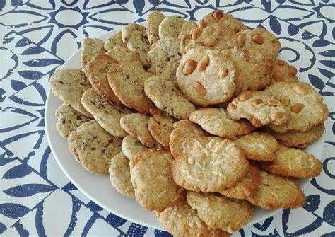 recetas galletas saladas galletas saladas crujientes receta de teresa cookpad