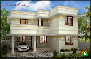 2 storey house three bedroom two storey house plan architecture kerala