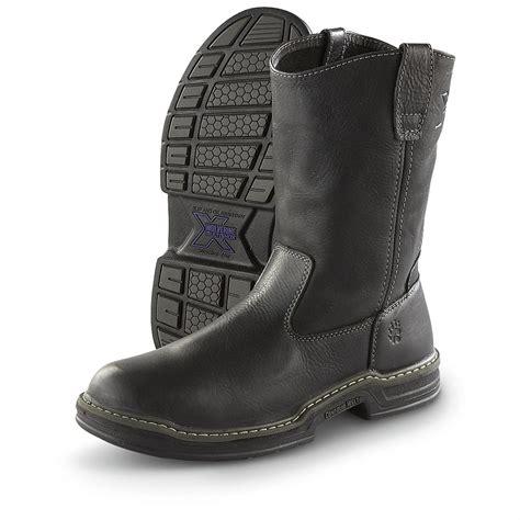 black wellington boots mens s wolverine 174 multishox 174 10 quot contour welt