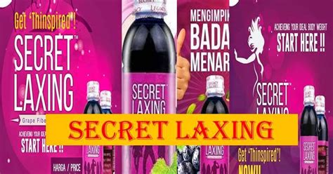 Laxing Pelangsing my shop secret laxing legacy produk