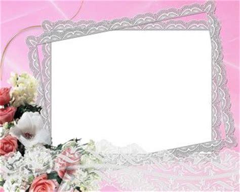 Frame Photo Meja Cantik Bunga Pink free wedding backgrounds frames wedding frame on pink background png frame 300dpi high