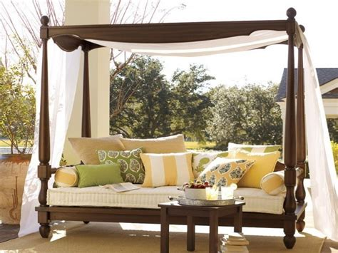 outdoor canopy bed outdoor porch bed diy canopy beds ideas for summer freshome best free home design