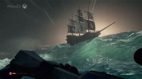 Black And The Ship Of Thieves sea of thieves footage revealed informed pixel