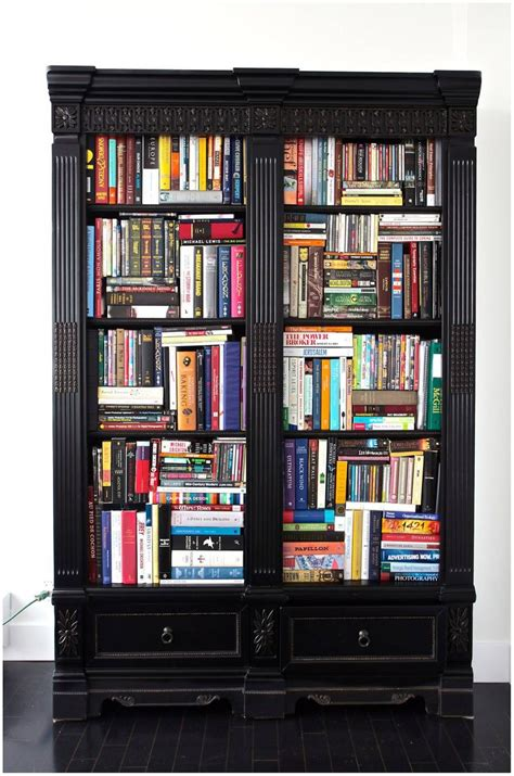 more to a fit books cabinet turned bookcase diy