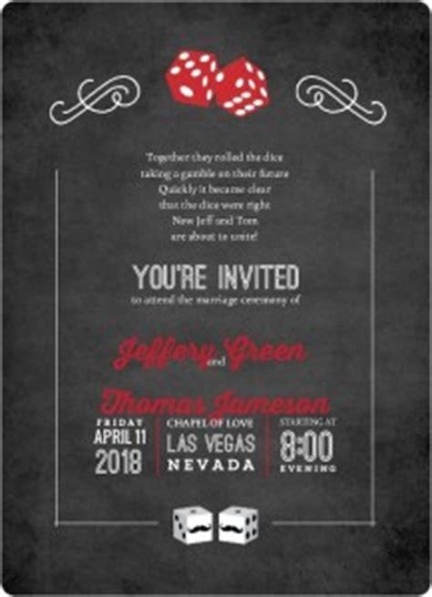 Las Vegas Wedding Invitations Invitation Wording Ideas Templates Las Vegas Wedding Invitations Templates