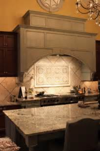 stoneimpressions pattern tiles for a kitchen backsplash