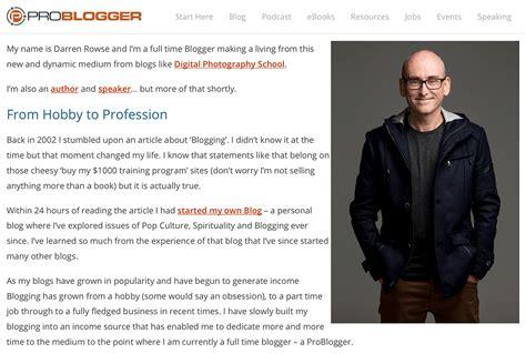 website biography ideas 12 of the best about us pages on the internet