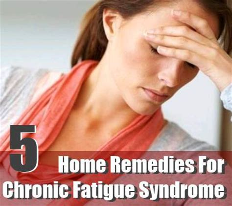 chronic fatigue home remedies treatments