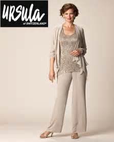 ursula of switzerland 41268 plus size mob pant suit
