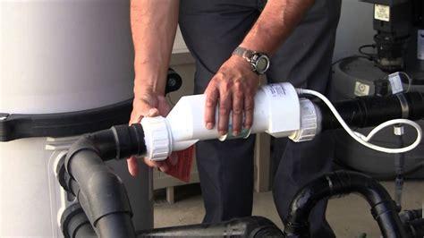 clean  hayward salt chlorination turbocell