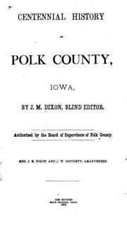 Centennial history of Polk county, Nebraska : Nance, A