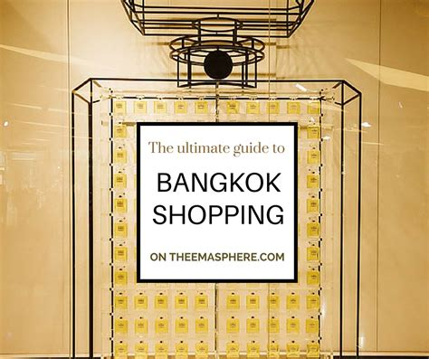 vogues ultimate retail guide the best shops in perth the ultimate bangkok shopping guide the emasphere
