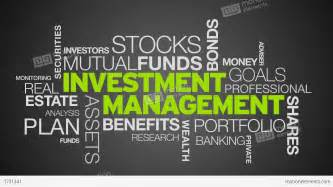 Investment Management Investment Management Word Cloud Animation Stock Animation