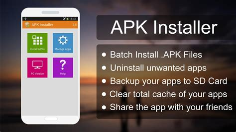 android apk installer apk installer applications android sur play