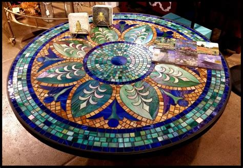 how to a mosaic table top 1000 ideas about tile top tables on tile