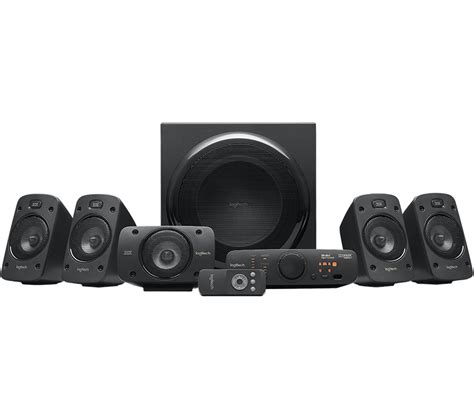 logitech z906 5 1 surround sound speakers system thx