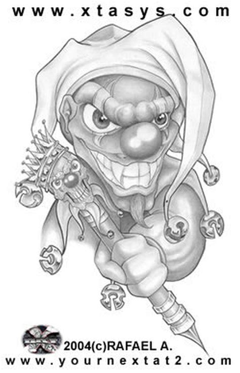 tattoo machine designs plans clown drawing tattoos book 65 000