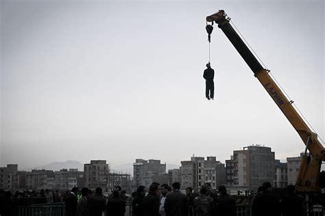iran news agency features slideshow of hanging photos israel news algemeiner