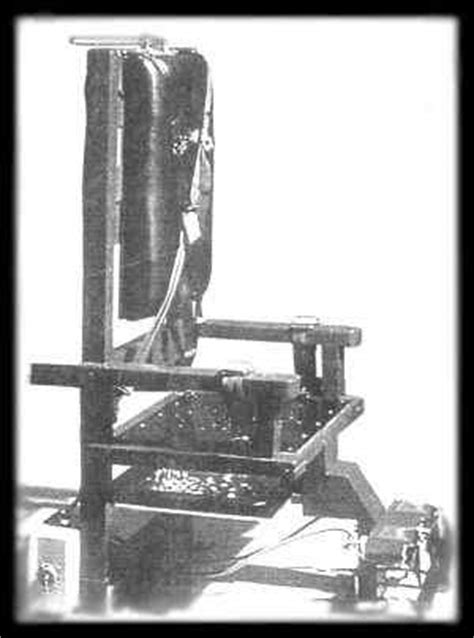 la sedia elettrica la pena di morte e i diritti dell uomo