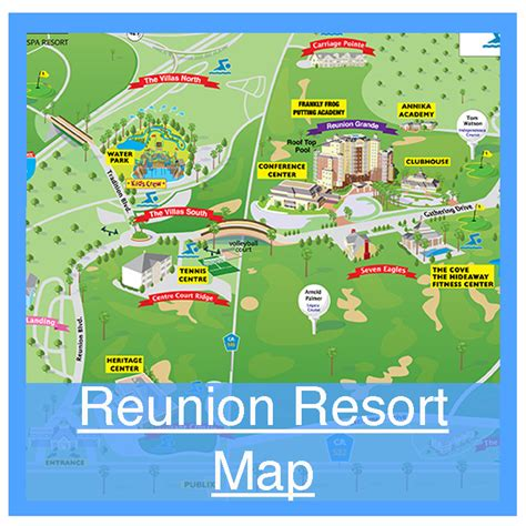 map of reunion florida reunion resort offered by homes4uu