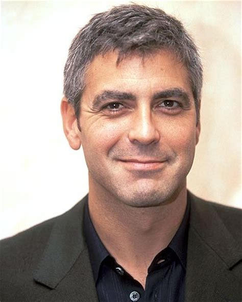 hot haircut for 50 year old men george clooney doblaje wiki