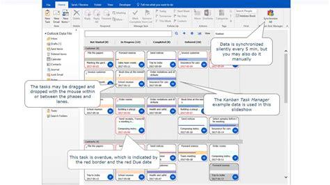 Kanban Task Manager For Outlook Slideshow Overview Youtube Onenote Kanban Board Template