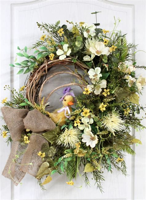 wreath for front door 566 best easter spring wreaths images on pinterest