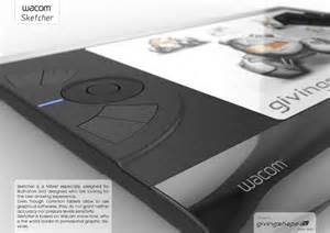 designer pad wacom sketcher digital sketchpad concept for illustrators