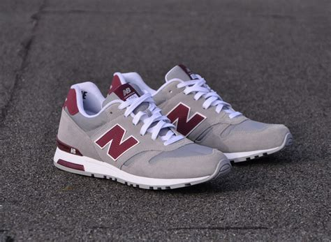 Offwhite I M His Sneaker Cde new balance 565 grey burgundy sneakernews