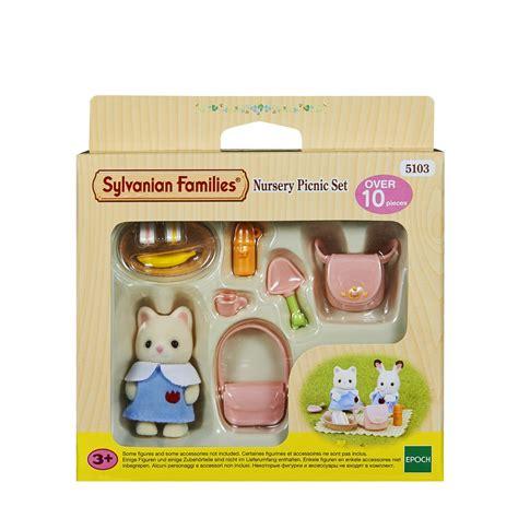 Sylvanian Families Nursery Picnic Set sylvanian families nursery picnic set